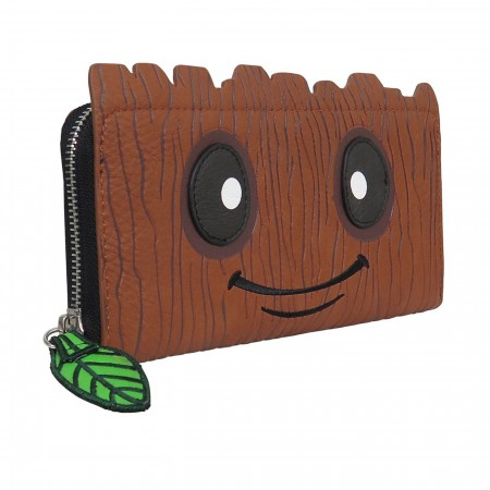 Baby Groot Women's Loungefly Zip Around Wallet
