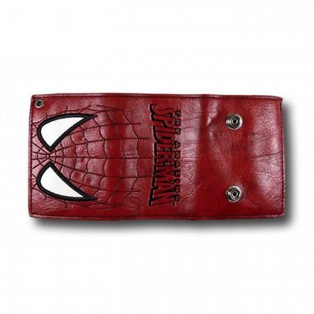 Spiderman Eyes Chain Wallet
