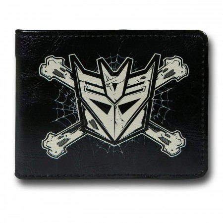 Transformers Decepticon & Crossbones Bi-Fold Wallet