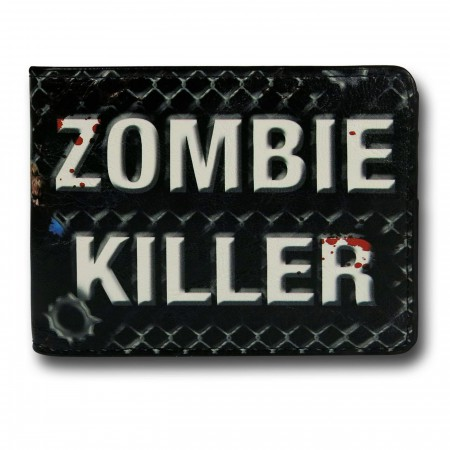 Walking Dead Zombie Killer Bi-Fold Wallet