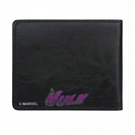Hulk Close-Up Bi-Fold Wallet