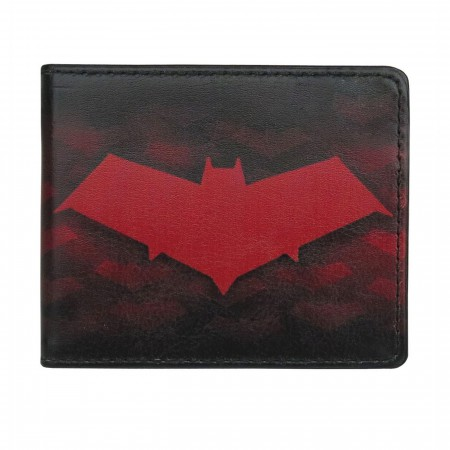 Red Hood Symbols All-Over Print Bi-Fold Wallet
