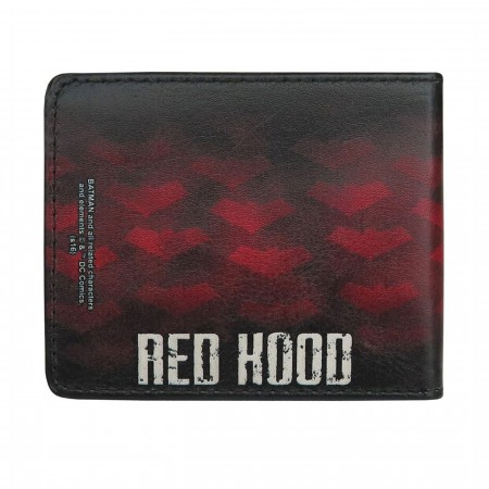Red Hood Symbols All-Over Print Bi-Fold Wallet