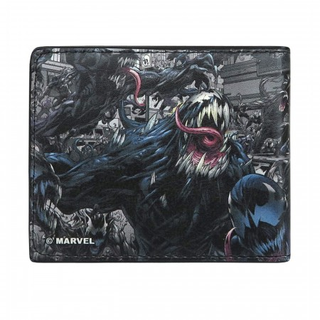 Venom in Action Bi-Fold Wallet