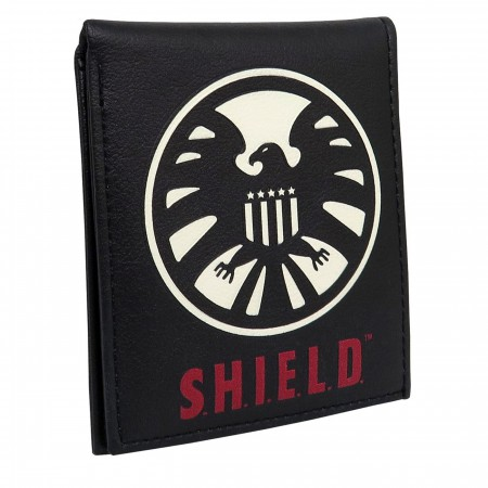 Shield Classic Logo Men's Bi-Fold Wallet