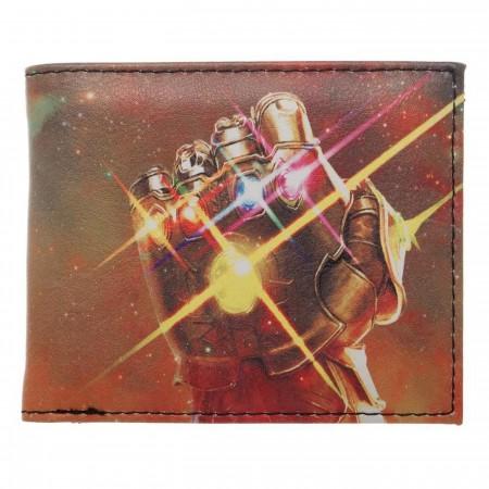 Infinity War Thanos Quickturn Men's Bi-Fold Wallet