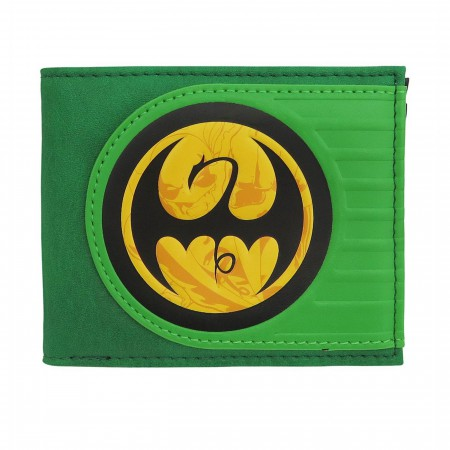 Iron Fist Symbol of Victory Men's Bi-Fold Wallet
