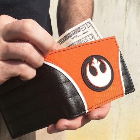 Star Wars Rebel Alliance Flight Suit Bi-Fold Wallet
