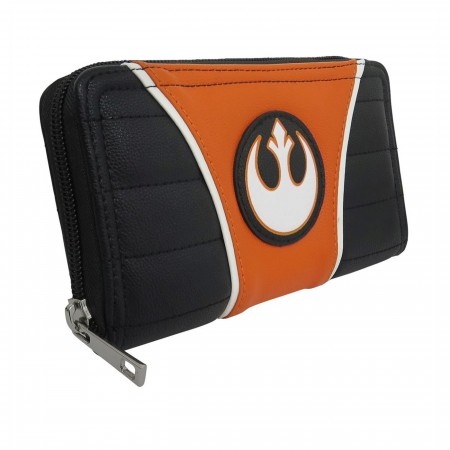 Star Wars Rebel Alliance Women's Zipper Wallet