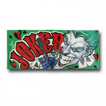 Joker Sublimated Cards Wallet
