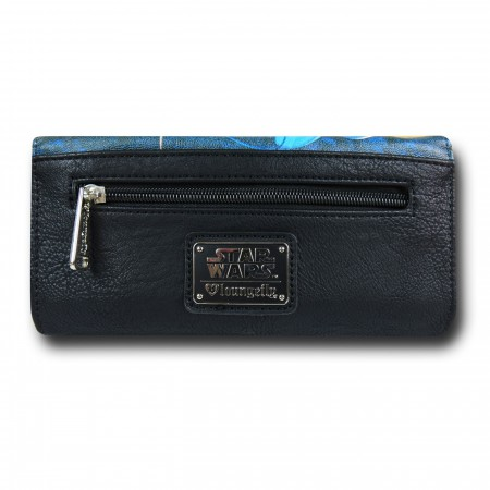 Star Wars Movie Poster Faux Leather Envelope Wallet