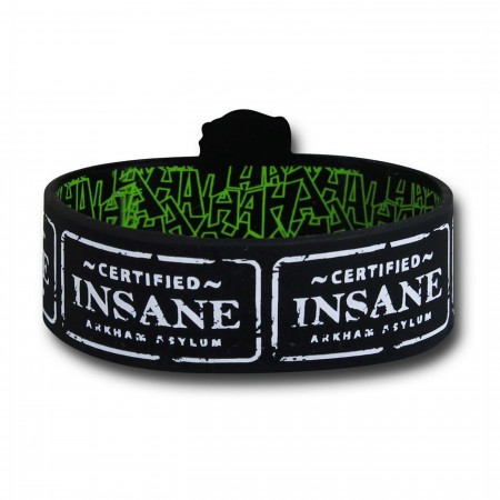 Joker Straightjacket Wristband