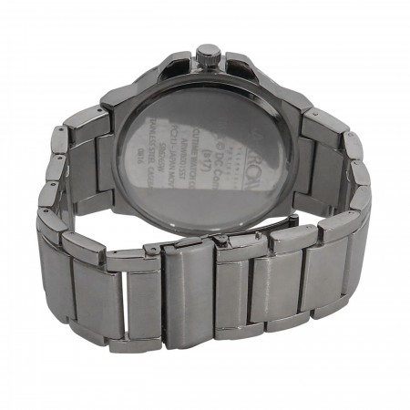 Green Arrow Symbol Watch with Metal Band