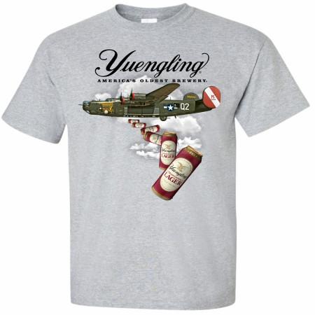 Yuengling Bomber B-24 Grey T-Shirt