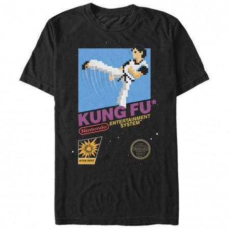 Nintendo Kung Fu Black T-Shirt