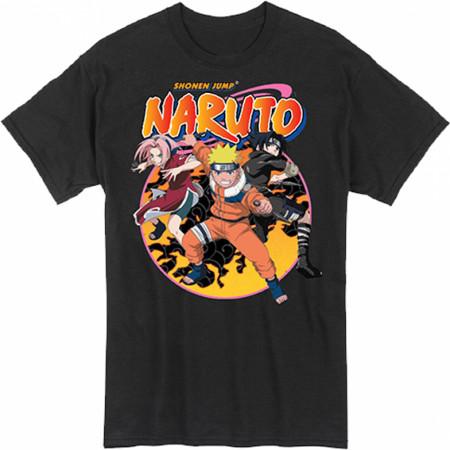 Naruto Team 7 Action Pose T-Shirt