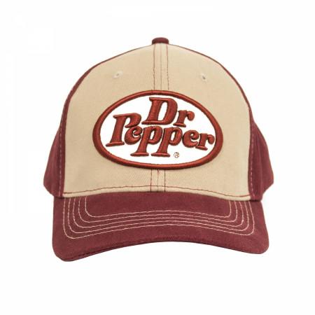 Dr. Pepper Logo Adjustable Hat