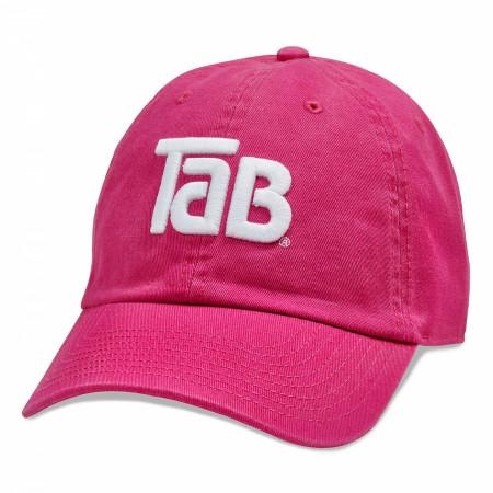 Tab Soda Logo Washed Slouch Dad Hat