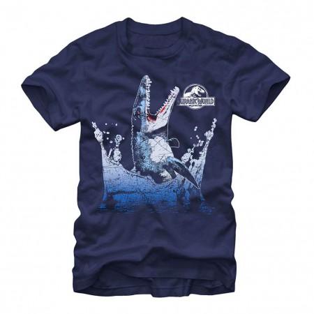 Jurassic World Flipper Blue T-Shirt