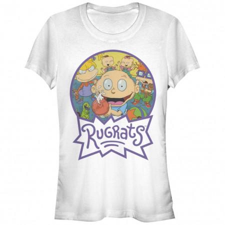 Rugrats Nickelodeon Pals Group White T-Shirt
