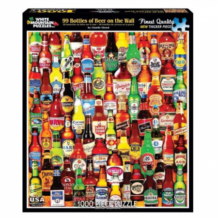 99 Bottles of Beer on the Wall 1000pc Puzzle