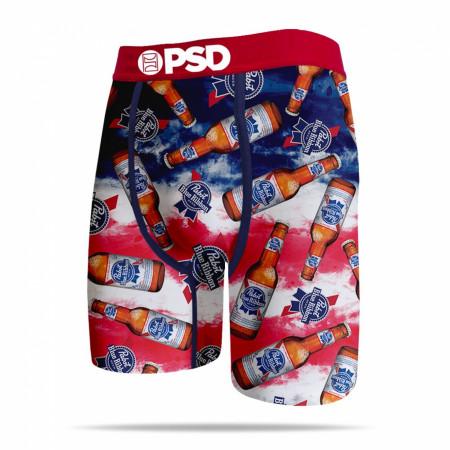 Pabst Blue Ribbon Beer Bottles Men's PSD Boxer Briefs