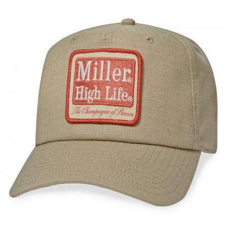 Miller High Life Beer Surplus Style Hat