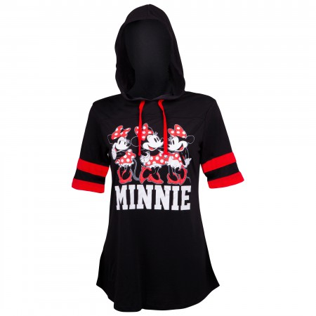 Minnie Mouse Hooded Women's Football Shirt