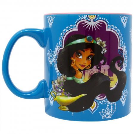Aladdin Blue Jasmine 20 Ounce Mug