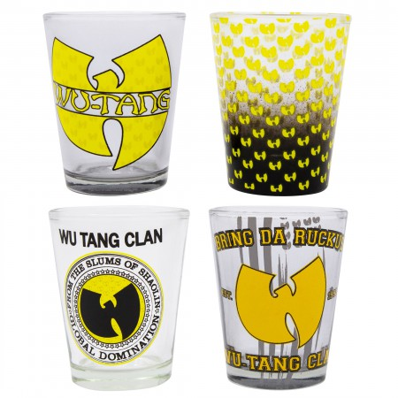 Wu-Tang Clan Shot Glass 4-Pack