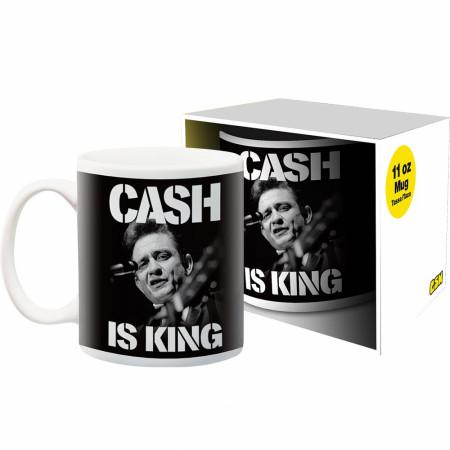Johnny Cash is King 11oz Mug