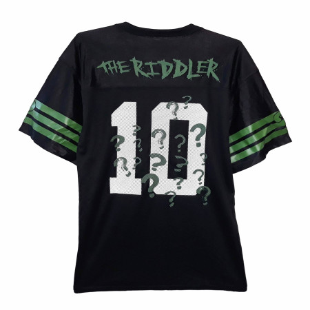 The Riddler Men's Black Football Jersey