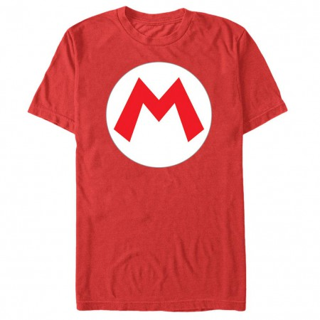 Nintendo Mario Icon Red T-Shirt
