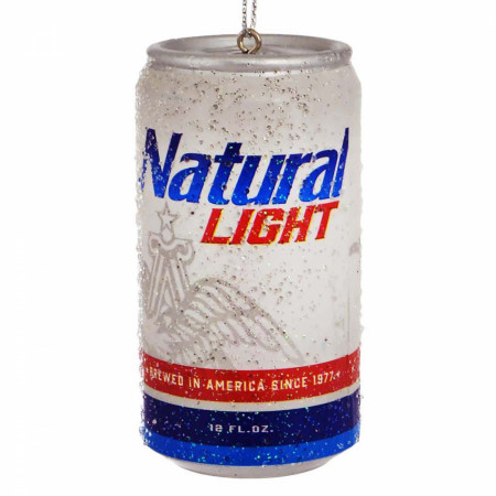 Natural Light Beer Can Holiday Ornament