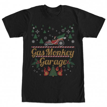 Gas Monkey Garage Monkey Sweater Black T-Shirt