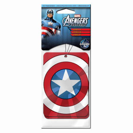 Captain America 2-Pack Vanilla Air Freshener