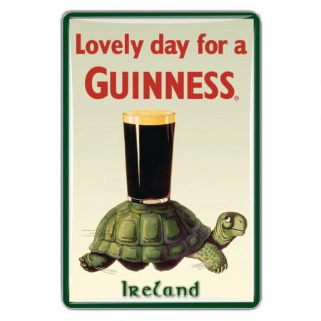 Guinness Beer Lovely Day Tortoise Magnet