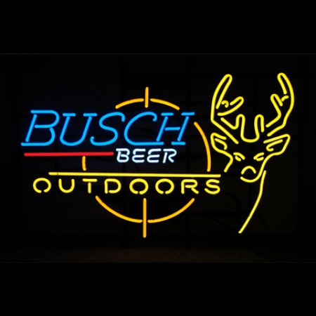 Busch Beer Hunting Neon Sign