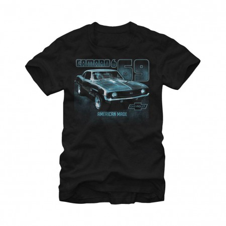 Chevrolet General Motors American Made Black T-Shirt