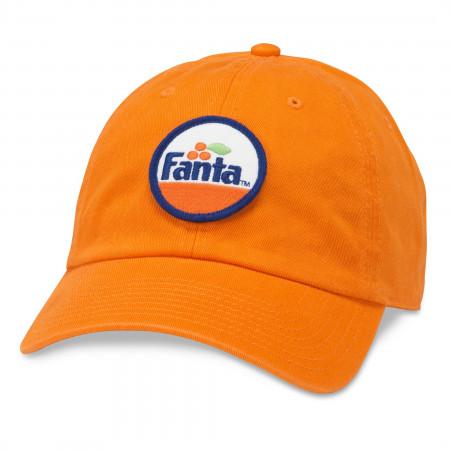 Fanta Logo Adjustable Orange Hat
