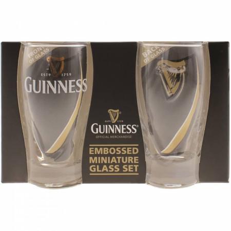 Guinness Harp Gravity Shot Glass 2-Pack
