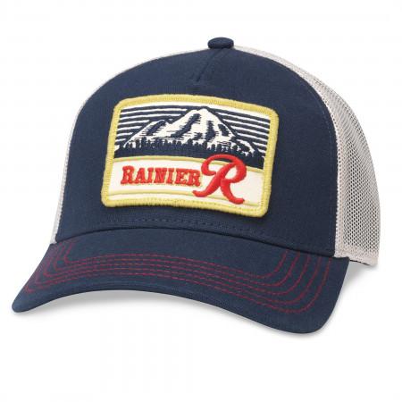 Rainier Logo Patch Mesh Trucker Hat