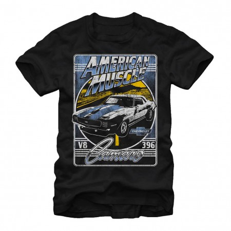 Chevrolet General Motors Highway Sport Black T-Shirt