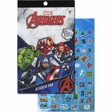 Avengers 4 Sheet Foil Cover 200+ Stickers