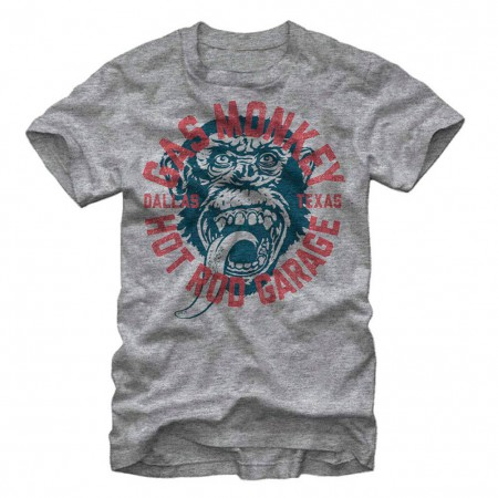 Gas Monkey Garage Monkey Business Gray T-Shirt
