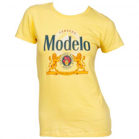 Modelo Cerveza 1925 Label Women's T-Shirt