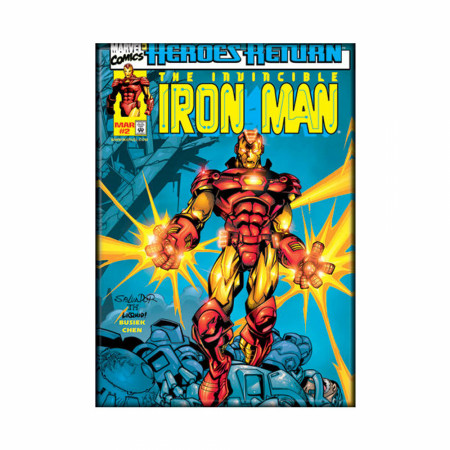 Invincible Iron Man #2 Magnet