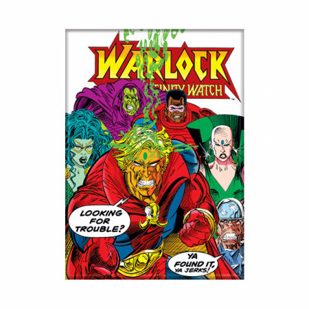 Warlock #27 Comic Cover Magnet