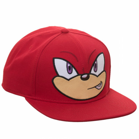 Knuckles Big Face Adjustable Snapback Hat