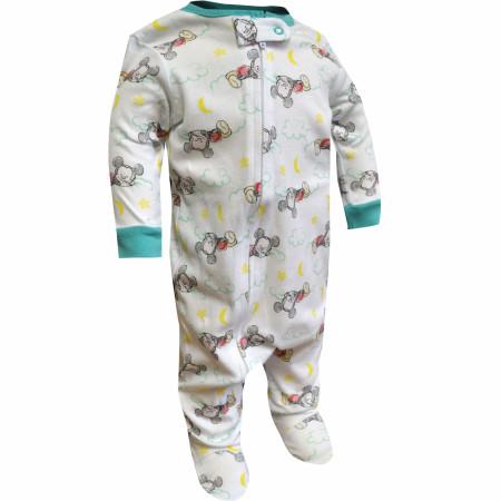 Mickey Mouse Sleeping Baby Bodysuit